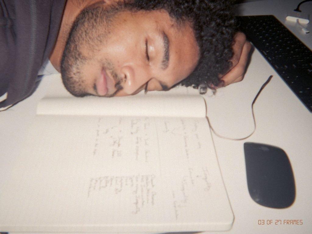 Jahan Sharif feeling overwhelmed and falling asleep