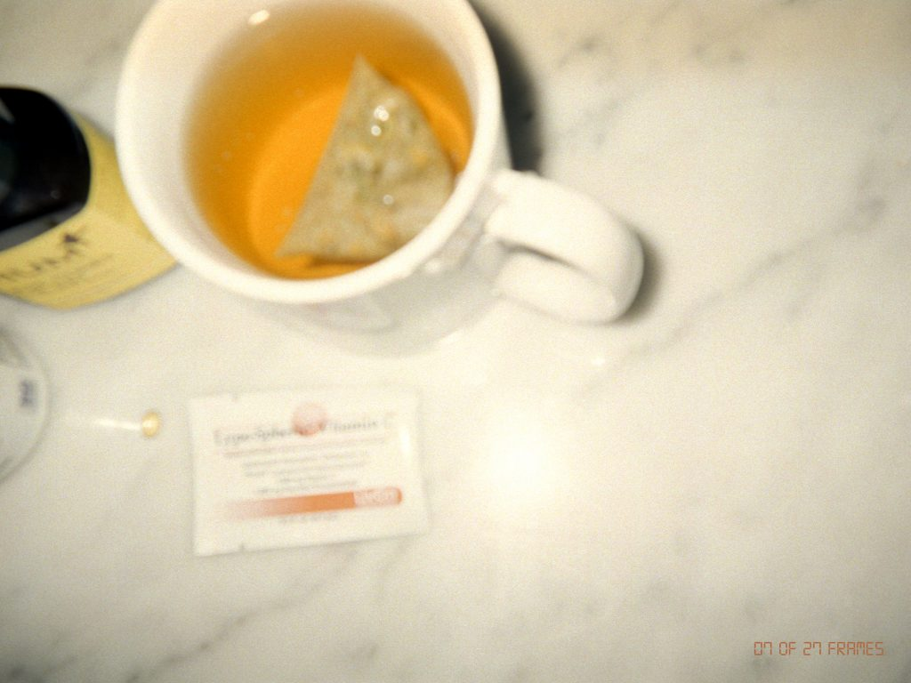 mandy madden kelley's third photo of tea and supplement
