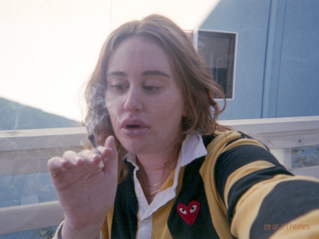 Tracy Scheer Smoking