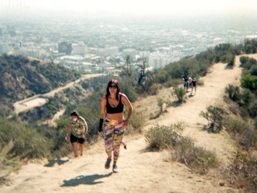 Carola Gonzalez Hiking