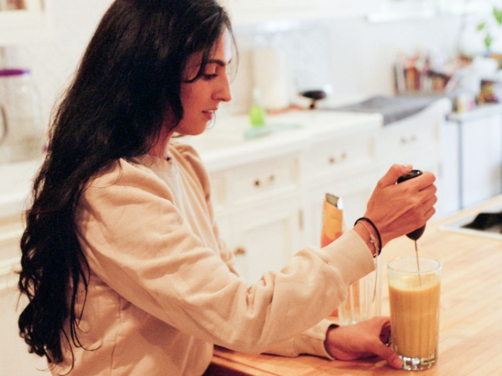 Michelle Ranavat Making Tea x and repeat